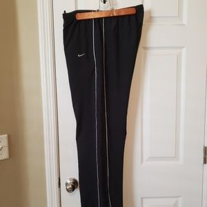 Nike Black W/White Trim Perfomance Pant Men Medium
